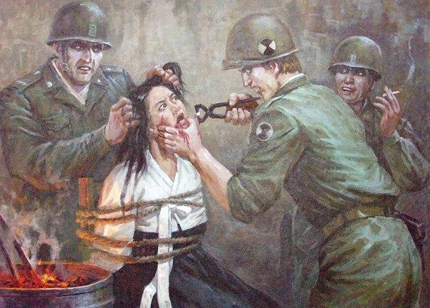 Корейская война в картинах корейских художников. CULN4_9FibQ