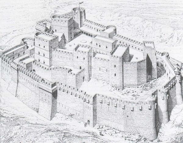 Крак де Шевалье – неприступная твердыня великого ордена госпитальеров 1452739756136142218