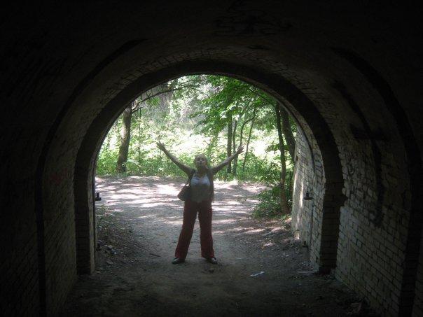 Мои путешествия. Елена Руденко. Киев ( Лысая гора ). 2009г. X_1f9809a3