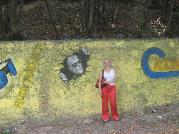 Мои путешествия. Елена Руденко. Киев ( Лысая гора ). 2009г. X_b06fde62