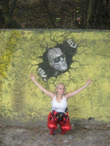 Мои путешествия. Елена Руденко. Киев ( Лысая гора ). 2009г. X_b4e0bd2a