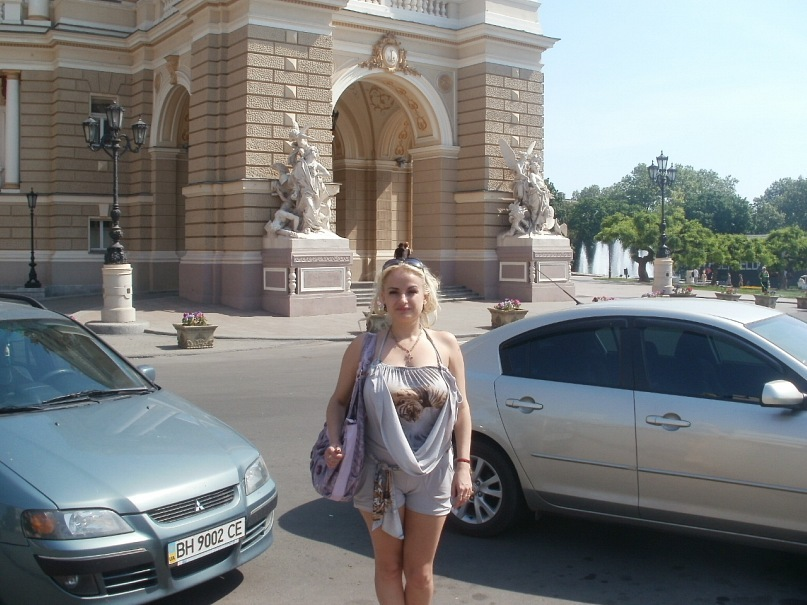Мои путешествия. Елена Руденко. Украина. Одесса. май 2011г. Y_1990cb7c
