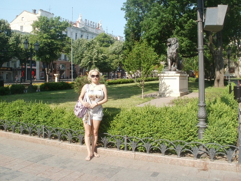 Мои путешествия. Елена Руденко. Украина. Одесса. май 2011г. Y_a4040a68