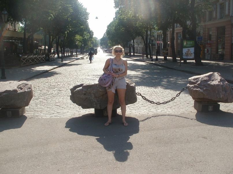 Мои путешествия. Елена Руденко. Украина. Одесса. май 2011г. Y_ba10e533