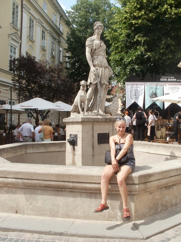 Мои путешествия. Елена Руденко. Украина. Львов. 2011 г.  Y_e4642212