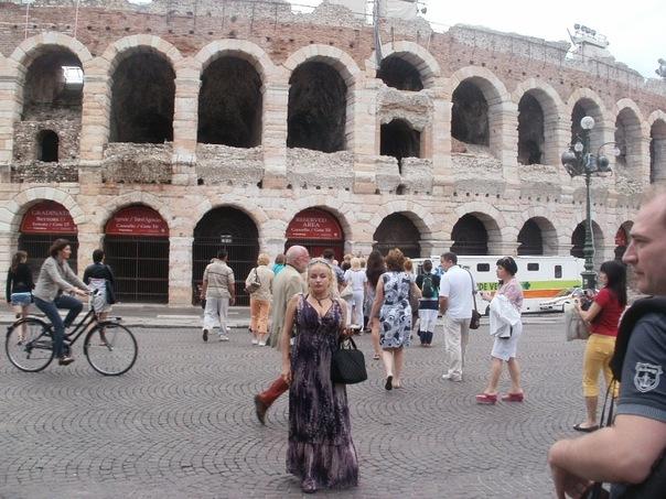 Мои путешествия. Елена Руденко. Верона. 2011 г.  X_9939e33a