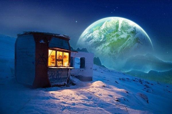 Звёздное небо и космос в картинках - Страница 39 1499683257127628855