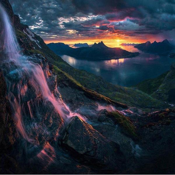 Роскошные пейзажи Норвегии - Страница 2 148978827915678803