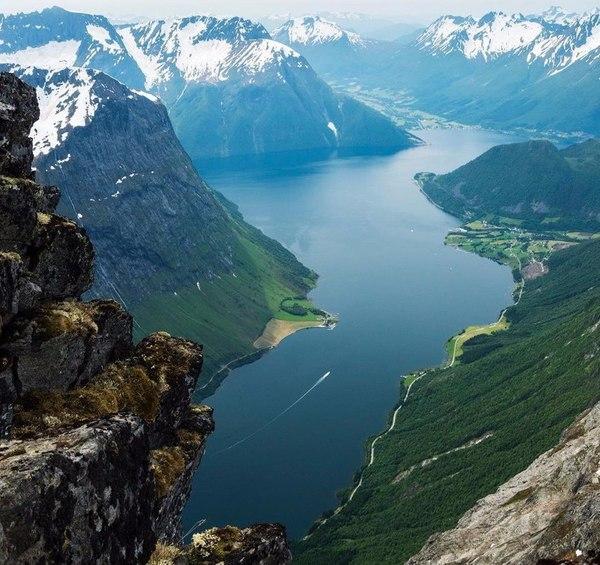 Роскошные пейзажи Норвегии - Страница 4 1491317597150116061