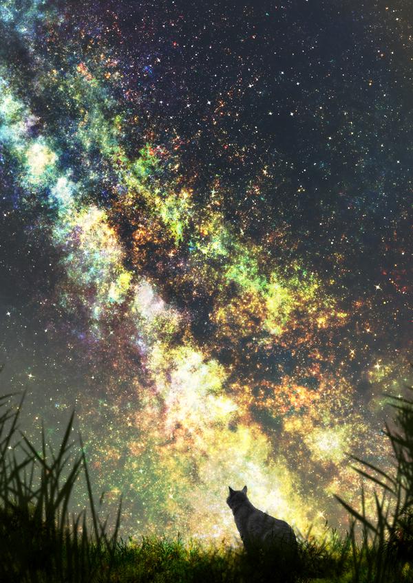 Звёздное небо и космос в картинках - Страница 39 1498914348192218340