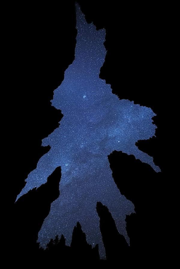 Звёздное небо и космос в картинках 1481701402188399680