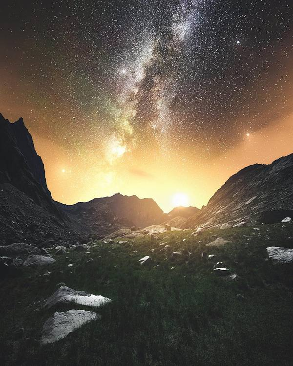 Звёздное небо и космос в картинках - Страница 6 1484854455179431372