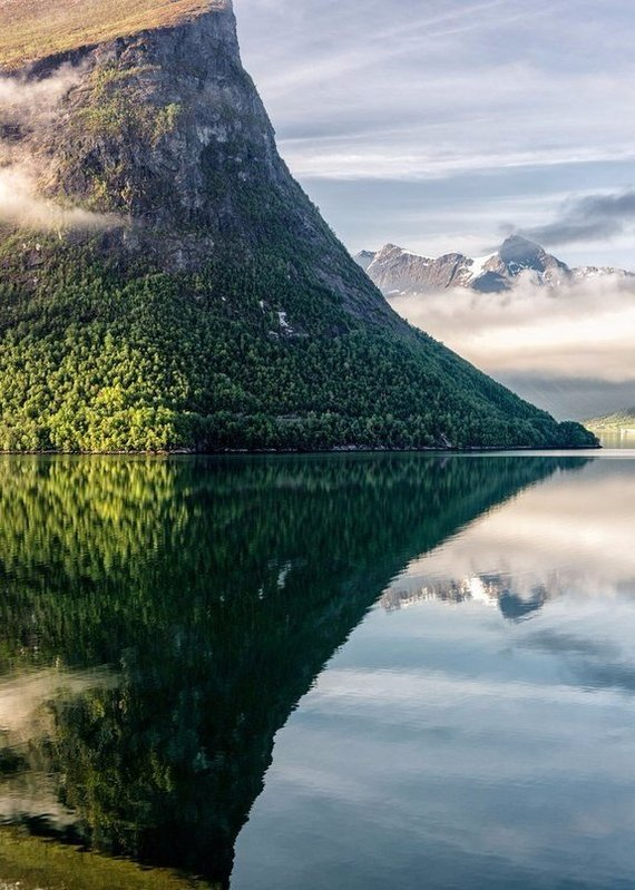 Роскошные пейзажи Норвегии - Страница 39 1487294125127987975