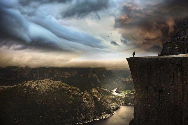 Роскошные пейзажи Норвегии - Страница 39 1487614311195777557