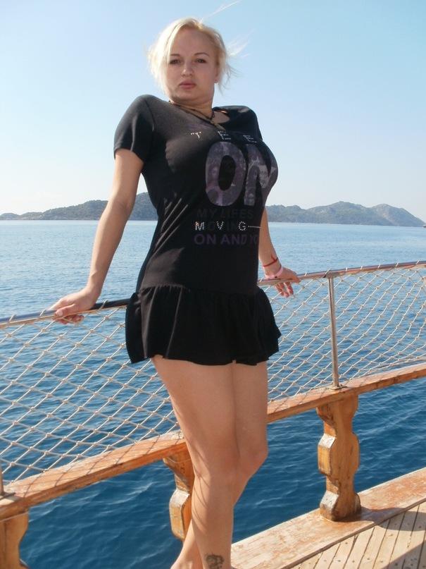 Мои путешествия. Елена Руденко. Турция. Средиземное море. Экскурсия на яхте.  2011 г.  Y_925c09d6