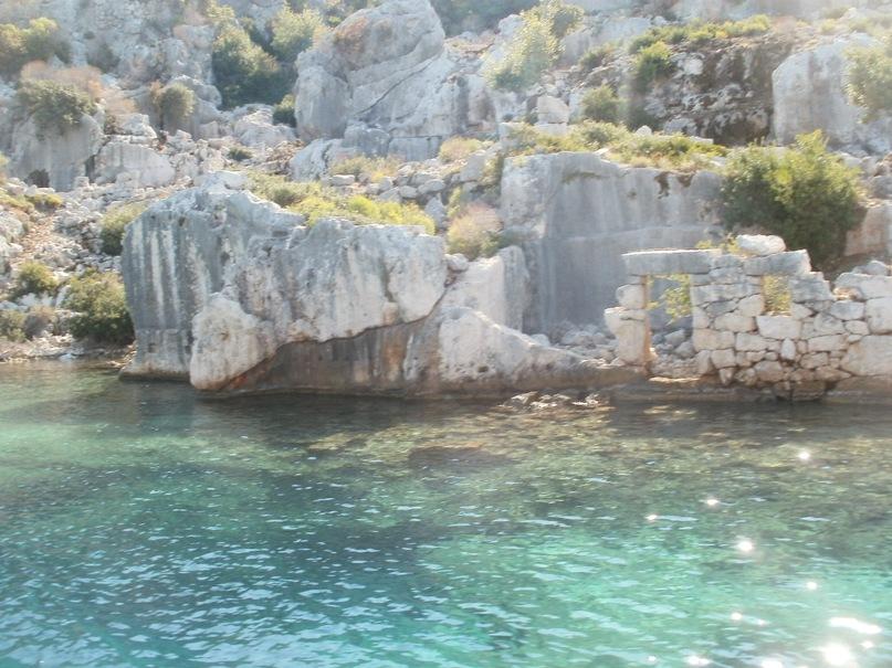 Мои путешествия. Елена Руденко. Турция. Средиземное море. Экскурсия на яхте.  2011 г.  Y_b4b57e5e