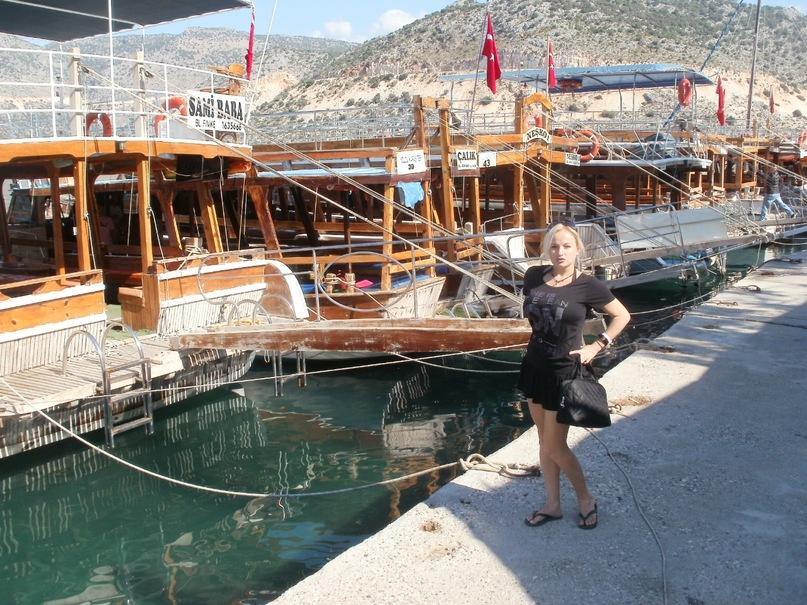 Мои путешествия. Елена Руденко. Турция. Средиземное море. Экскурсия на яхте.  2011 г.  Y_d01eff07