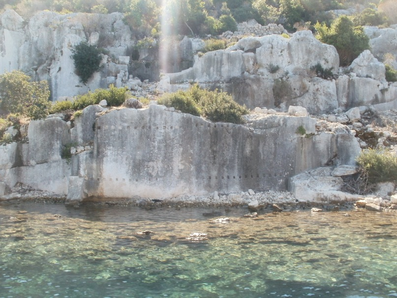 Мои путешествия. Елена Руденко. Турция. Средиземное море. Экскурсия на яхте.  2011 г.  Y_d969162b