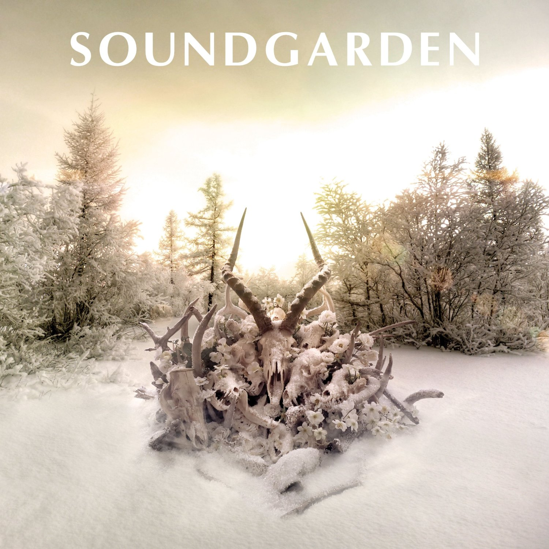 Un disco, un gif Soundgarden-king-animal-artwork