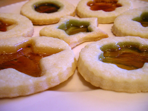 Sablés miroir Biscuit-mirroir