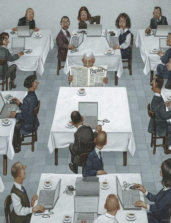 >>>Ilustraciones Satíricas..>>> Gerhard_Haderer_ilustraciones_satiricas_5
