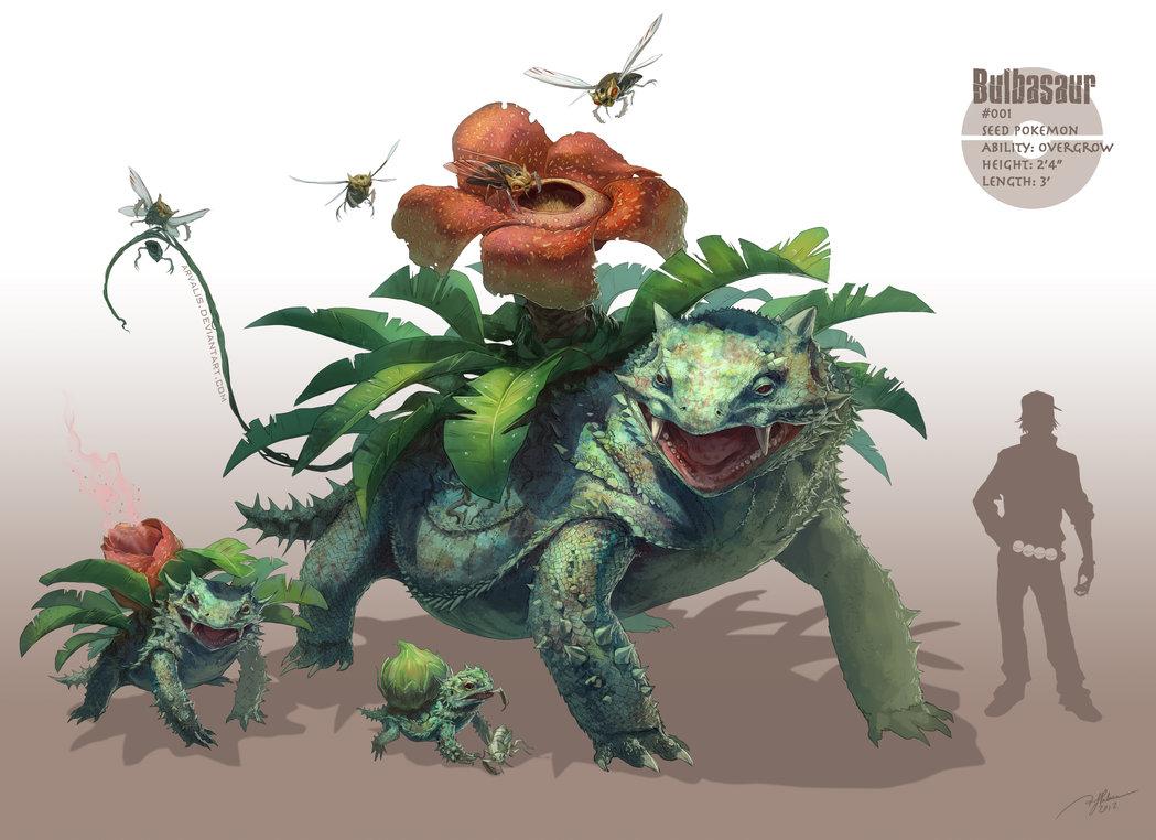 Charmander, Bulbasaur ou Squirtle? - Página 3 Bulbasaur__by_arvalis-d5hszwc
