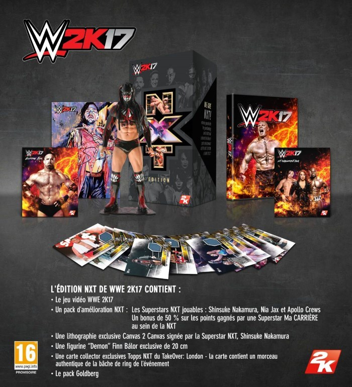 WWE 2K17 : L'édition Collector NXT !!! Wwe-2k17-collector
