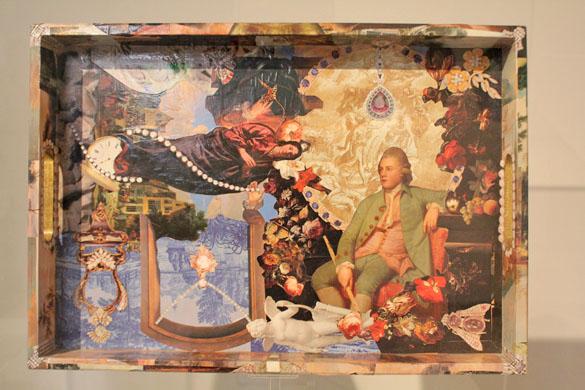 Decoupage (dekupaž tehnika) - Page 4 Artwork-queen-margrethe-II-decoupage-1