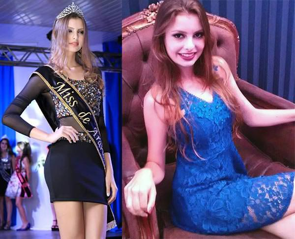 candidatas a miss parana universe 2016, final 9 de julho. Araruna-Alessandra-Lima