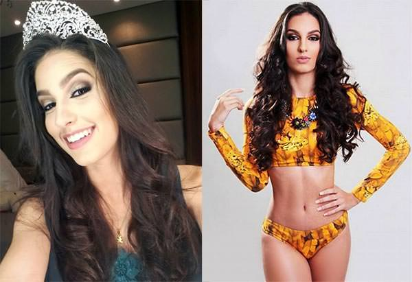 candidatas a miss para universo 2016, final: 15 de setembro. Belem-Rubia-Abati