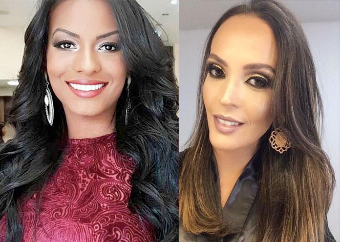 as duas finalistas do miss rio de janeir universo 2017. final: 10 de junho. Isabel-Correa-e-Nathalia-Kling