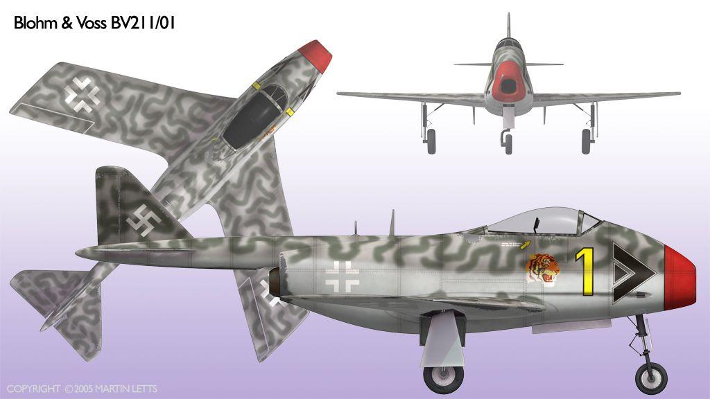 Luftwaffe 46 et autres projets de l'axe à toutes les échelles(Bf 109 G10 erla luft46). - Page 2 Bv_p211