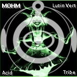Acid Whirl: Acid & Rave stage: 15/11/2019 - Paris 1 DJ_MOHM_Lutin_vert