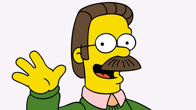 Im back Ned-flanders