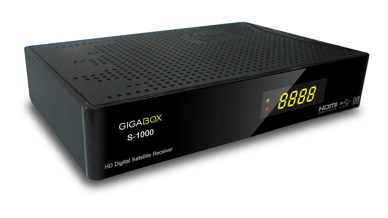 NOVA ATUALIZAÇÃO DO SEU APARELHO GIGABOX S1000 HD. Gigaboxs1000png