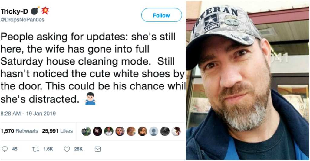 This Hilarious Step-Dad Live-Tweeted His Son Trying To Sneak A Girl Out Of The House Stepdad-2
