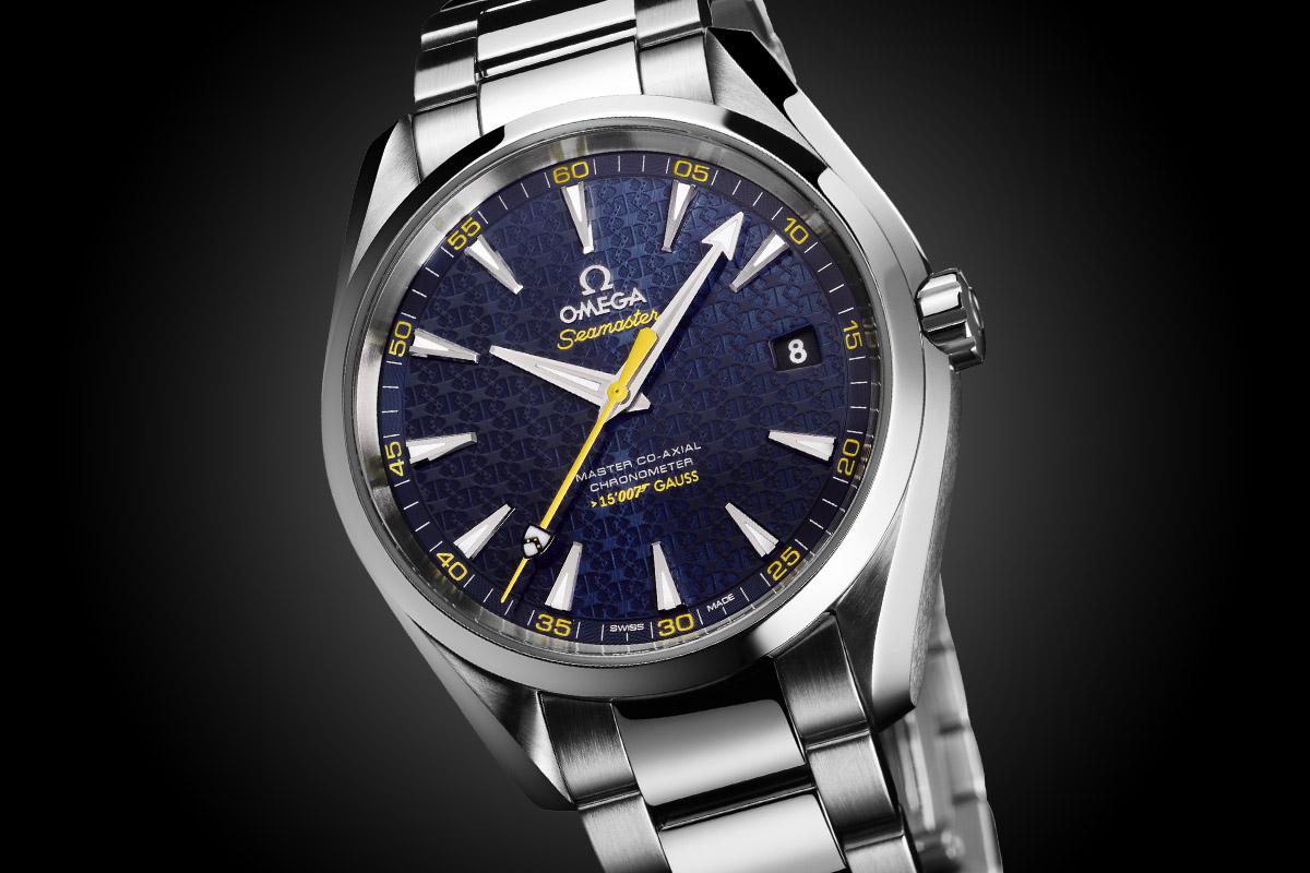 omega - Omega Seamaster Aqua Terra 150M James Bond Omega-Seamaster-Aqua-Terra-150m-Master-Co-Axial-James-Bond-007-Spectre-2