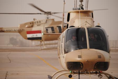 العراق يستلم مروحيات Bell 407 الامريكية  352215_q75