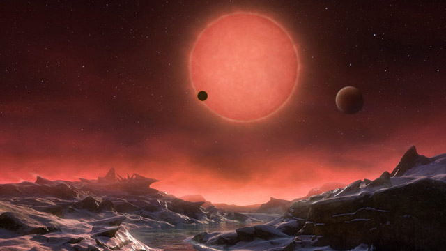 Descubren dos exoplanetas similares a la Tierra TRAPPIST1-2