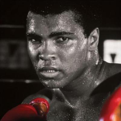 Muhammad Ali 1942-2016 Celebrity-Image-Muhammad-Ali--Boxing-Gloves--332068