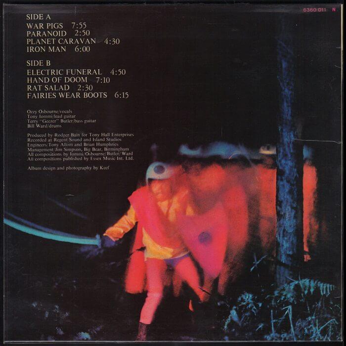18 de setembro de 1970 - Paranoid. Black-sabbath-paranoid-album-cover-2