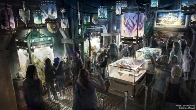 Disney dévoile sa prochaine attraction « Les Gardiens de la Galaxie » ! Par Justine Manchuelle                                           Attraction-gardiens-2-768x432