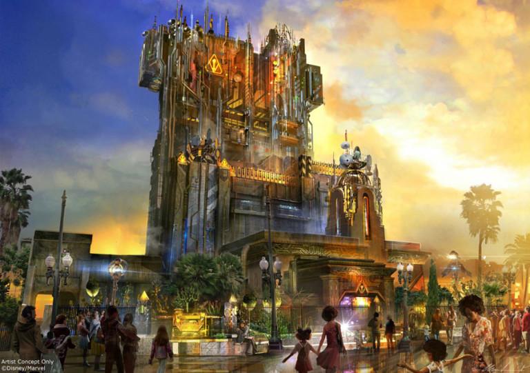Disney dévoile sa prochaine attraction « Les Gardiens de la Galaxie » ! Par Justine Manchuelle                                           Attraction-gardiens-768x541