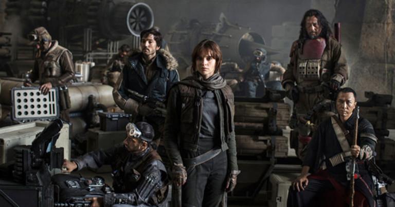 3 raisons d'aller voir Rogue One, le premier spin-off de la saga Star Wars ! Par Camille Chuquet Rogue-One-rebelles-768x404