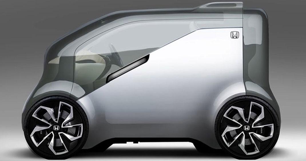 Honda dévoile NeuV, son concept car électrique capable d'interagir avec son conducteur ! Par Justine Manchuelle                        Honva-neuv-une