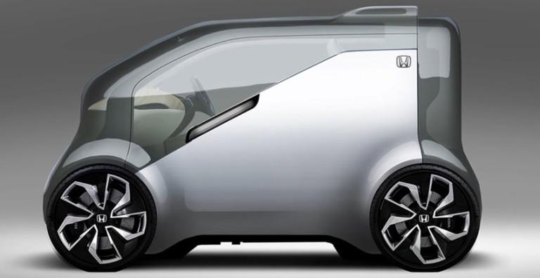 Honda dévoile NeuV, son concept car électrique capable d'interagir avec son conducteur ! Par Justine Manchuelle                        Honva-neuv-vue-768x396