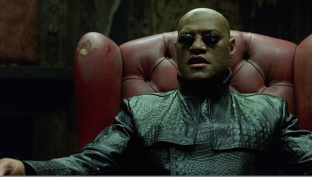8 élèments de l'univers de Matrix décryptés à travers la mythologie de la saga ! Par Julina Jean-Joseph                                  Matrix-morpheus