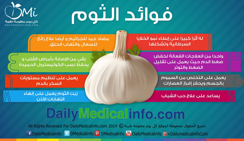 متجدد : معلومة طبية وصحية - صفحة 2 DailyMedicalInfo_Benefits_of_Garlic_infographic