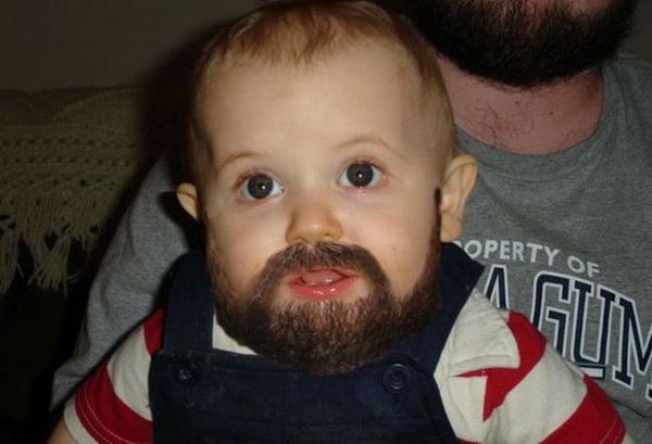 Brett Keisel welcomes new son Bearded-baby