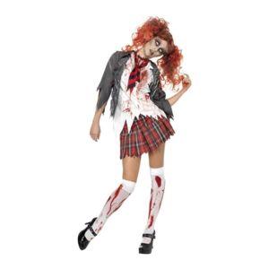 [Jeu] Association d'images - Page 4 Deguisement-ecoliere-zombie-horreur
